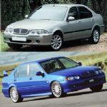 Rover 400, 45 and MGZS